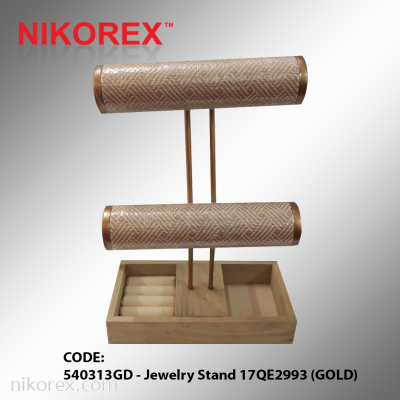 540313GD - Jewelry Stand 17QE2993 (GOLD)