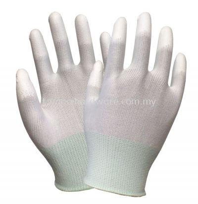 PU Plam Fit Glove - Finger Coated