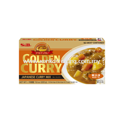XK173 Mild S&B Golden Curry Mix 220GM (JAPAN)