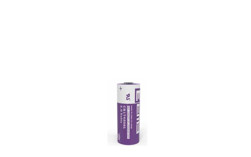 CR17505SL Li-MnO2 Battery High Power Type