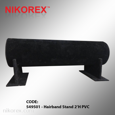 549501 - Hairband Stand 2��H PVC