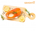 Frozen Salmon Steak 三文鱼排 RM 9.90 Only
