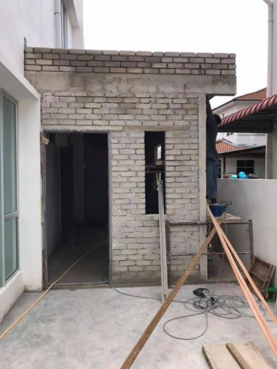 Extension Wet Kitchen And Renovation Refer In Malaysia