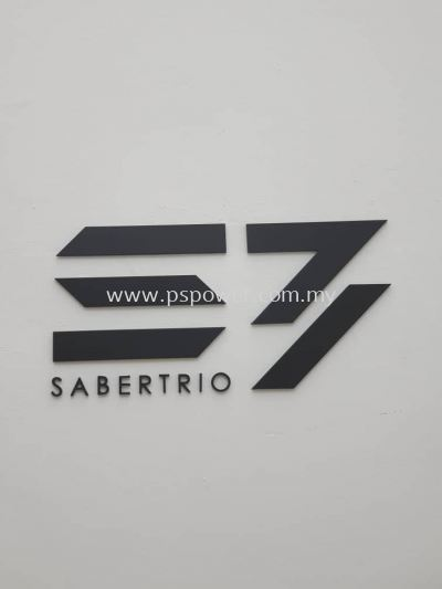 Acrylic Cut-Out Indoor Company Signage