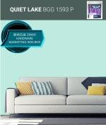 NIPPON EXTERIOR PAINT Q SHIELD 5 LITER - BGG1593P QUIET LAKE