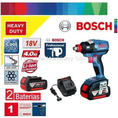 Bosch 18V Cordless Impact Wrench GDX 18 V-EC