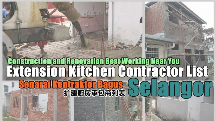 Contractor Extension Kitchen And Renovation In Selangor