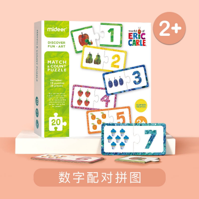 MD3087 Mideer Match & Count Puzzle