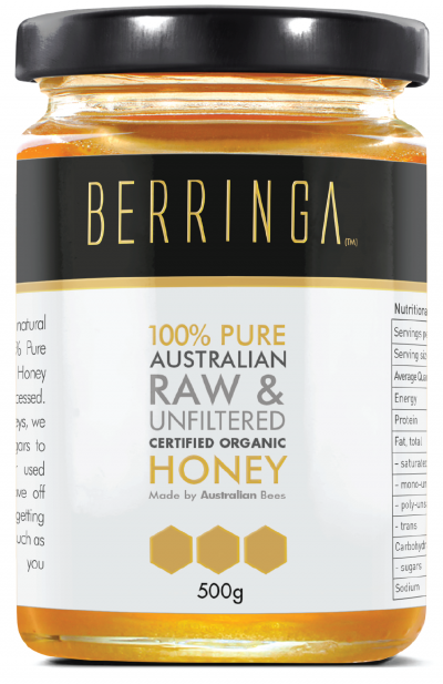 Berringa Certified Organic Eucalyptus Honey