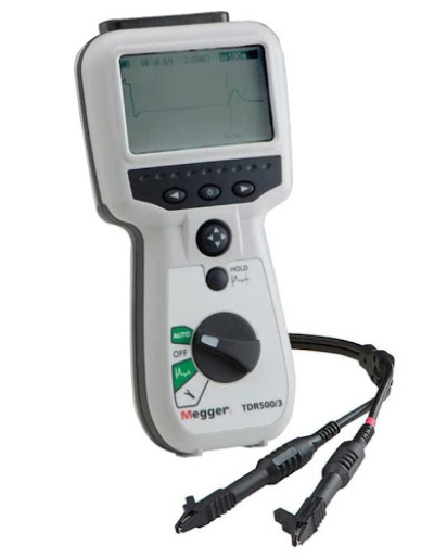 MEGGER TDR1000/3 Advance Handheld Single Channel TDR