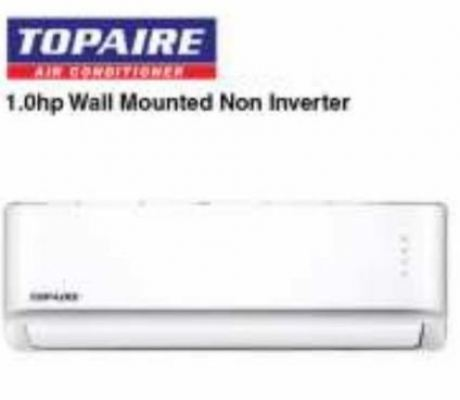 TOPAIRE Wall Mounted Non Inverter  1hp (RM855)