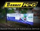 Banner Printing & Install Banner