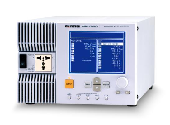 GW INSTEK APS-1102A Programmable AC/DC Power Supply