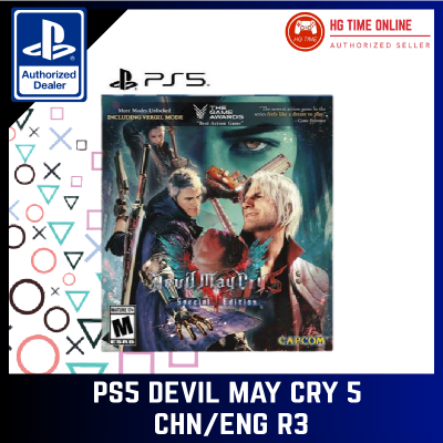 [READY STOCK] PS5 Devil May Cry 5 CHN/ENG R3 | PlayStation 5 | PS5 Games