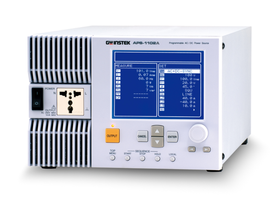 GW INSTEK APS-1102A Programmable AC/DC Power Supply