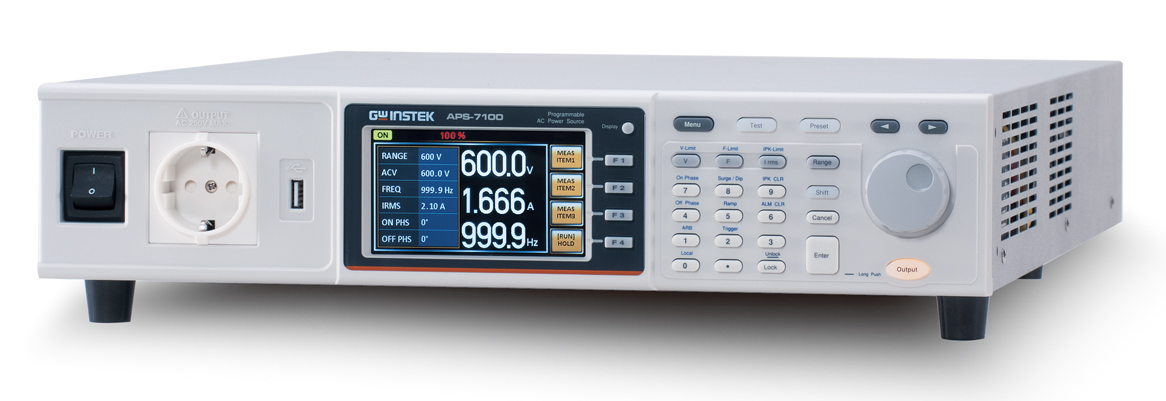 GW INSTEK APS-7000 Series-Programmable Linear AC Power Sources