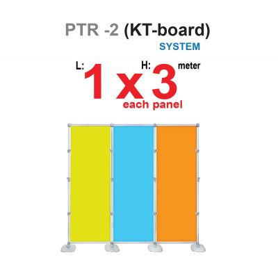 PTR-2 backdrop with KT board