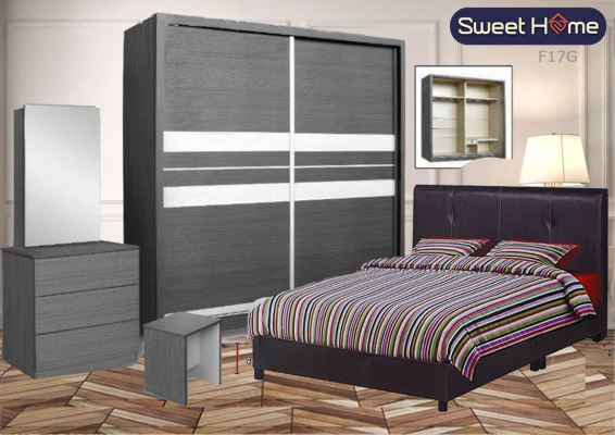 Limited Special Sale Promotiom Bedroom Set 8 x 8 full set with dressing Table