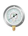 MR-206-DS-R22 REFCO Low Side Oil Gauge (Bottom) - R22/134A/404A  Oil Filled Pressure Gauge