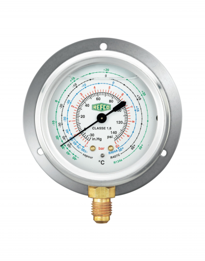 MR-206-DS-R22 REFCO Low Side Oil Gauge (Bottom) - R22/134A/404A