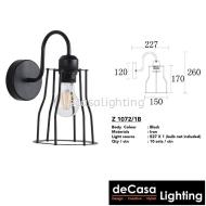 LOFT WALL LIGHT (MJ15-BK-W)
