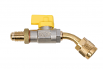 """CA-1/4""""SAE-Y-45° REFCO Ball Valve Others"""