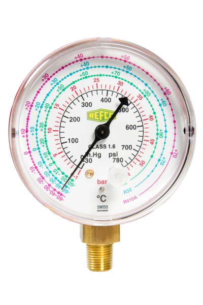 M2-500-DS-CLIM REFCO High Side Gauge (R22/407C/410A)
