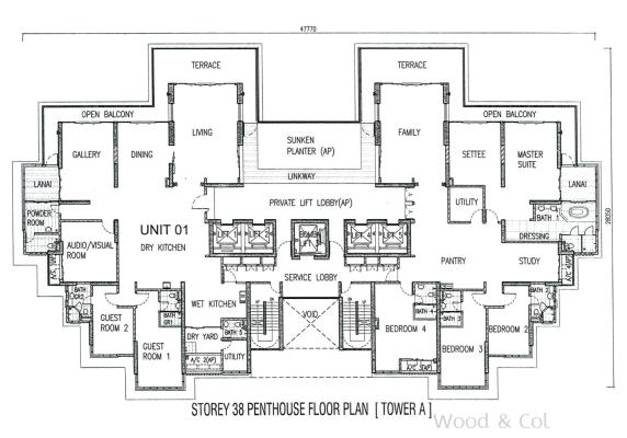 Penang interior design
