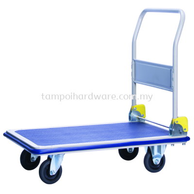 Single Metal Platform Foldable Hand Trolley