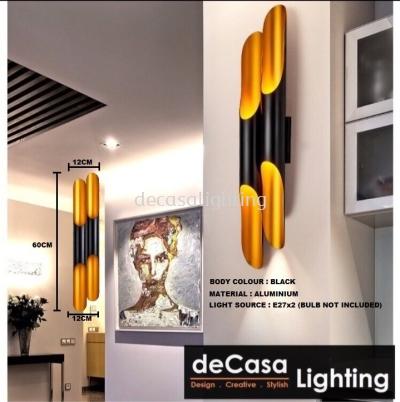 Wall Light (LY-2020-2-BK-GD)
