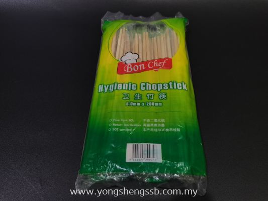 CHOPSTICK BON CHIEF (50PAIR/60PKT/CTN)
