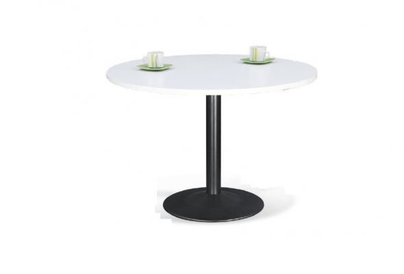 Round discussion table without chair