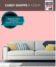 NIPPON INTERIOR PAINT Q GLO - R1276P CANDY SHOPPE