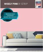 NIPPON INTERIOR PAINT Q GLO - R1278P WISELY PINK