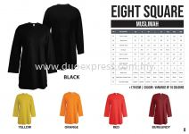 EIGHTSQUARE Cotton Muslimah Roundneck T Shirt  1