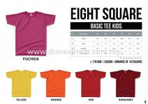 EIGHTSQUARE Cotton Kids Roundneck T Shirt S.Sleeve 1