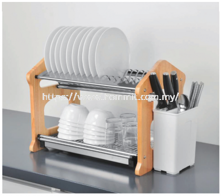 Standing Dish Rack Stainless Steel
