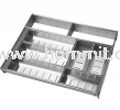 Stainless Steel Cutlery Tray Kitchen Drawer System