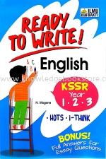 READY TO WRITE! ENGLISH YEAR 1.2.3
