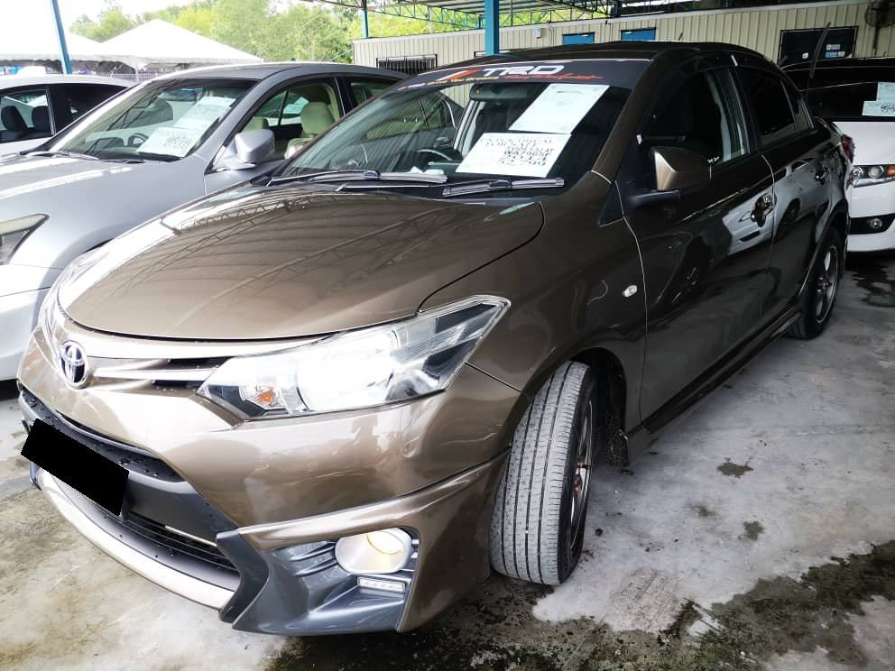 2014 Toyota VIOS 1.5 J (A) Full Loan