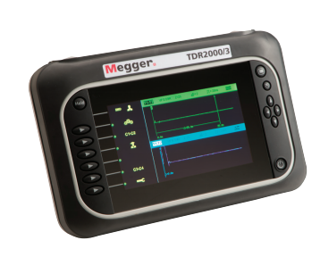 MEGGER TDR2000/3 and TDR2010 Advance Dual Channel TDR