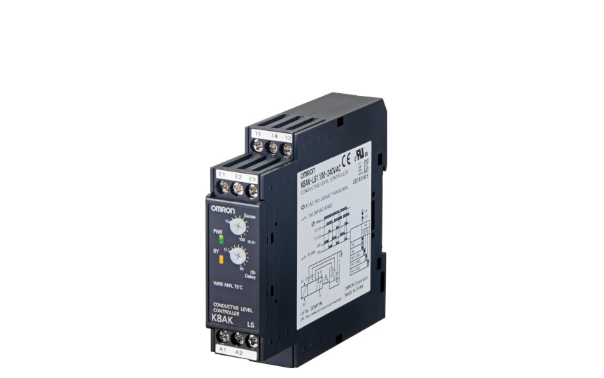 Omron K8AK-LS   Ideal for Liquid Level Control in Industrial Facilities and Equipment.
