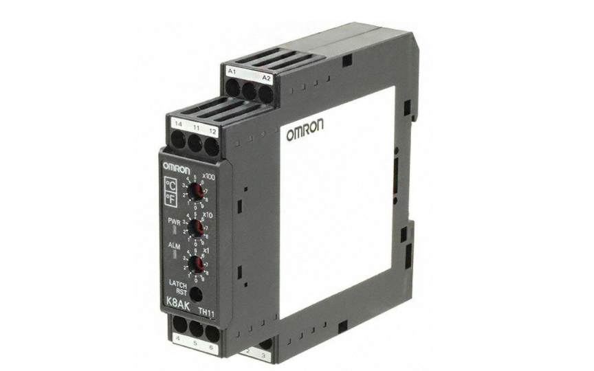 Omron K8AK-TH Compact and Slim Relay Ideal for Temperature Alarms and Monitoring