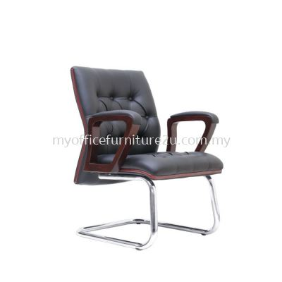 V2324S Duty Visitor Chair Pu Leather