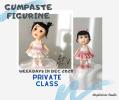Gumpaste Figurine Private Workshop Weekly Private Workshop
