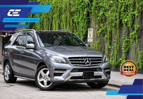 MERCEDES BENZ ML350 3.5L V6 PETROL 2012