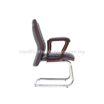 V2334S Gently Visitor Chair Pu Leather