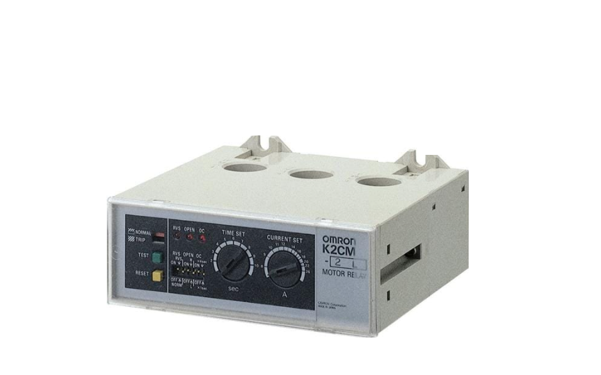 Omron K2CM Solid-state Relay Enables Choice of Three Operating Functions (Overcurrent, Openphase,and Rever