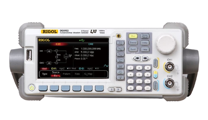 RIGOL DG5102 Arbitrary Waveform Function Generator 100MHz 1 Channel