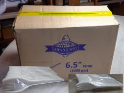 6.5 FORK 50 PCS X 40 PACKS (2,000 PCS)